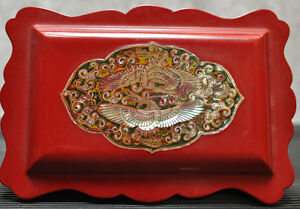 Beautiful dresser top jewellery box
