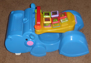 Fisher Price Gobble and Go Hippo  Rider converts to Walker