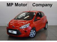 2015 15 FORD KA 1.2 EDGE 3D 69 BHP, 3DR 5SP ECO STOP/START HATCH, FLAME RED,