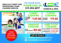 STEAM CLEANING-LONDON