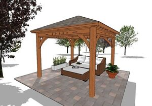 Gorgeous Pergola,Pavilion,Gazebo Kit FY Outdoor Space  Belleville Belleville Area image 7