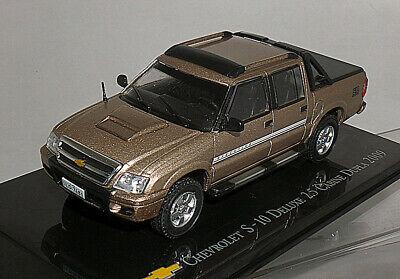 Ixo 1/43 Chevrolet S-10 Deluxe 2.5 Cabine Dupla 2009 Champagne, usado comprar usado  Enviando para Brazil