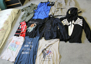 Lot of women's clothing - mostly medium, some large
