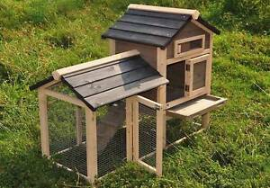 The Lodge. chicken cage guinea pig cage hutch Fully Assembled North Lakes Pine Rivers Area Preview