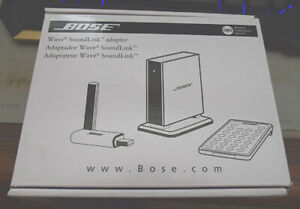 Bose Wave Soundlink wireless adapter.