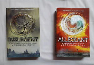 Insurgent and Allegiant by Veronica Roth