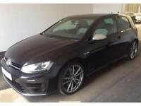 2015 BLACK VW GOLF R 2.0 TSI 300 DSG 4X4 PETROL 3DR HATCH CAR FINANCE FR £67 PW