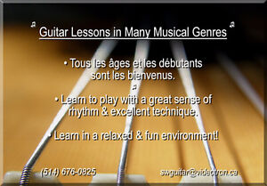 Guitar Lessons, West Island - Beginners to Advanced Levels! West Island Greater Montréal image 2