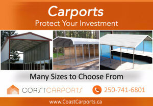 Protect your Investments with Steel Carports, Sheds, Buildings