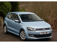 Volkswagen Polo 1.2TDI ( 75ps ) BlueMotion Tech 2011MY Blue Motion Blue 5 Dr
