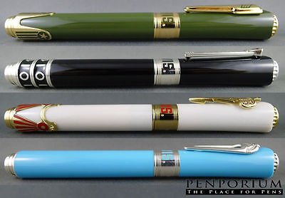 MONTEGRAPPA ELVIS COLLECTION ICONS LIMITED EDITION 4 PIECE FOUNTAIN PEN SET