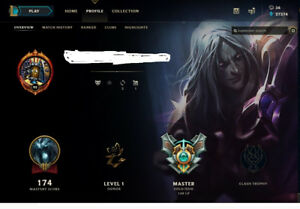 Masters Account League of Legends