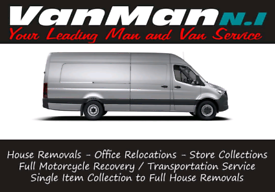 Man with a Van for Hire 24/7 Removals - Collections - Bike Transport