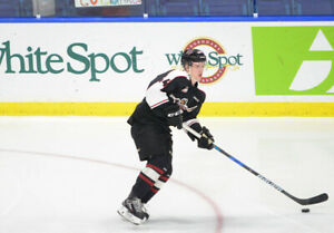 ISO - Bowen Byram Vancouver Giants 2017-18 Game Worn Jersey