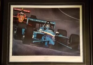 Greg Moore Canadian Blue Signed Print