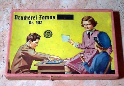 "DDR Stempelspiel "" Druckerei "" Famos Nr. 502"