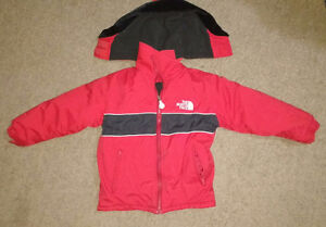 North face and Columbia boys 4 5 winter coats