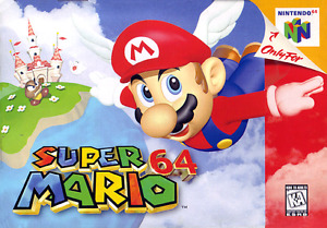 Looking for mario 64 box only!