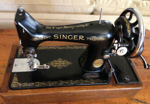 Singer Hand Crank 1936 Portable Sewing Machine