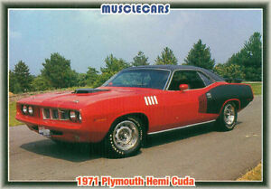 Muscle Cars MOPAR Trading Cards from the 1992 Collect-A-Card Cor Sarnia Sarnia Area image 10