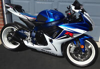 GSX-R600 With  many extras. Well looked after!