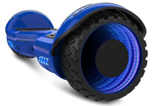 Gyrocopters 8FINITI All Terrain Hoverboard LED Wheel,Bluetooth