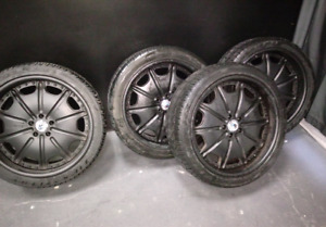 "22"" Asanti rims with tires for Range Rover"
