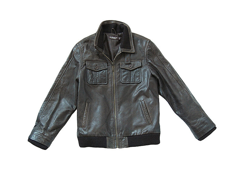 St George by Duffer Leather Jacket