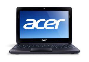 Acer Aspire One AO722 4GB ram 500GB 11.6 Laptop