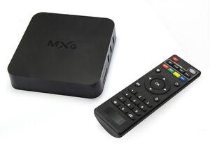 Quad Core Kodi Xbmc Tv Box Android 4.4 Kitkat wifi h.265 1G+8G