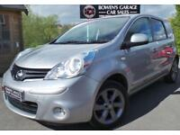 2010 60 NISSAN NOTE 1.4 N-TEC 5DR - LOW MILES - 6 SERVICES - SAT NAV - CRUISE