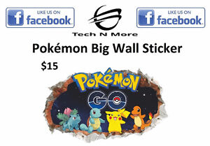 Pokémon Big Wall Stickers