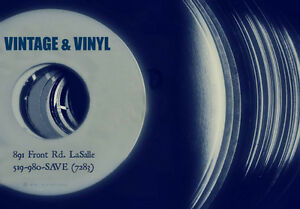 VINTAGE & VINYL IS NOW OPEN 6 DAYS A WEEK 11 TO 6 Records + MORE Windsor Region Ontario image 2