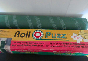 Puzzle Game Roll Mat for Carrying and Storage