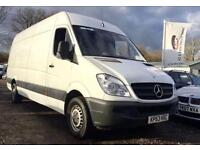 2013 63 MERCEDES-BENZ SPRINTER 2.1 313 CDI LWB HI-TOP 129 BHP DIESEL
