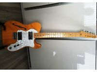 Fender Classic Series 72 Thinline Telecaster - Natural
