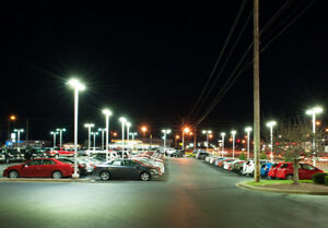 LED Parking lot/Street Lights, Wall Pro, High Bay Flood, Canopy