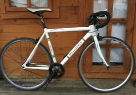 "Peugeot ltd Premier Record De Monde. Road Bike Aluminium. 21"" Frame"
