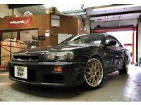REDUCED Nissan R34 GTT 4 door manual (RB25DET, not Honda Mazda Evo Subaru drift rx7 Silvia type r)