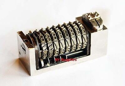 316 Letterpress Numbering Machine 8 Digits For Heidelberg Windmill Or Kluge
