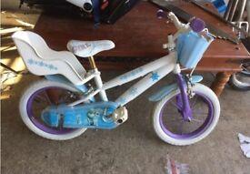 3-8 year old girls child bike