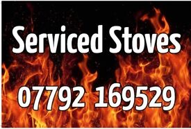 SERVICED WOOD STOVES