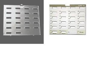 10 avaya lucent at t partner 18d euro plastic overlays 10 desi label paper. Black Bedroom Furniture Sets. Home Design Ideas