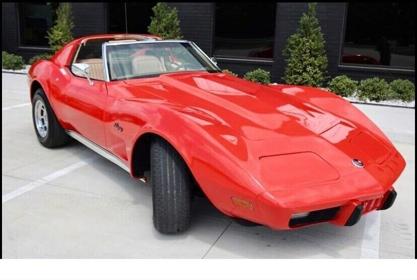 1976 Red Chevrolet Corvette   | C3 Corvette Photo 1