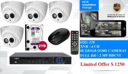 Security cameras installation Full HD Dahua