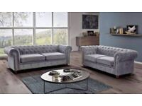 GET 40% OFF ON CHESTERFIELD 3+2 SOFA SET AVAILABLE IN MORE COLOURS