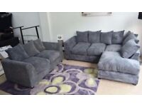brand new Dylan 3seater and 2seater sofa sets available now in stock for quick delivery