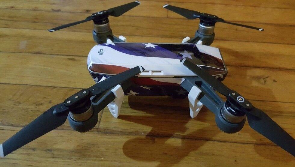Drone Dji Spark - Accessori Piedi per Atterraggio Landing