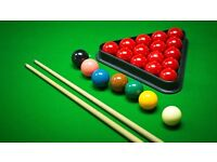 Anyone fancy a game of snooker