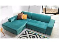 Delivery 1-3 days Corner Sofa Bed Sofa Corner COMO Brand New Packed Function and Storage